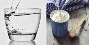 air dan yoghurt